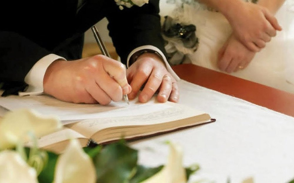 wedding documents